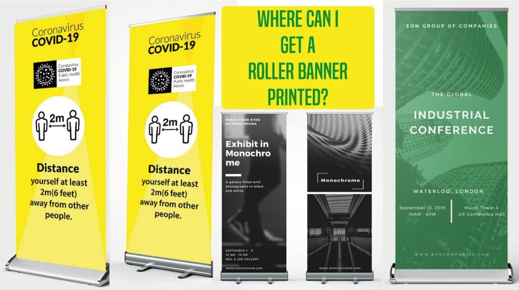 Who Delivers Printed Roller Banners?