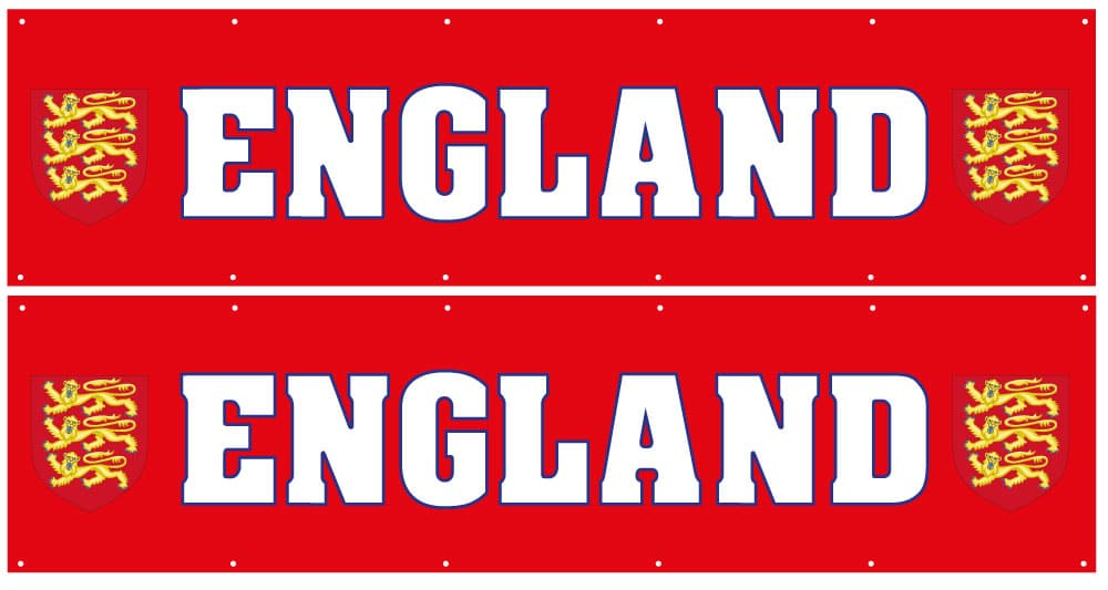 england banner special offer
