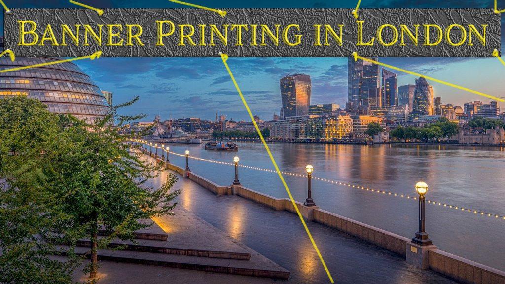 banners printing London